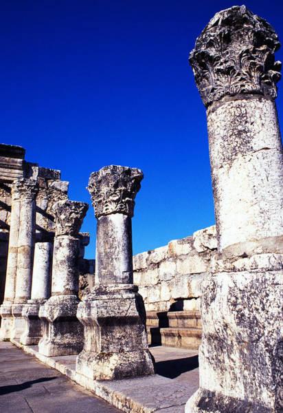 Photograph - Synagogue Columns  by Thomas R Fletcher