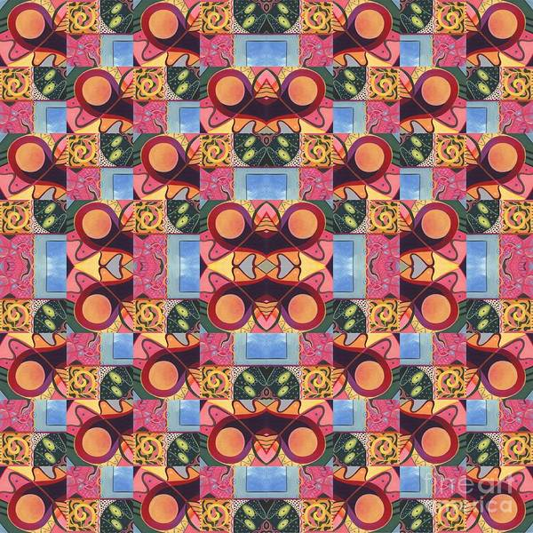 Synchronicity - A  T J O D 1 And 9 Arrangement Art Print