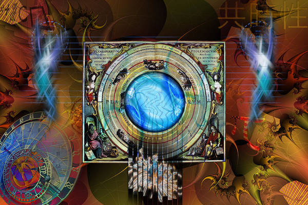 Digital Art - Synchronicity by Kenneth Armand Johnson