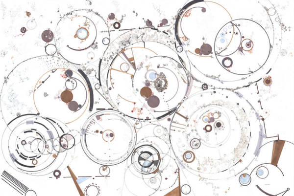 Drawing - Synchronicity  by Regina Valluzzi
