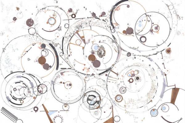 Wall Art - Drawing - Synchronicity  by Regina Valluzzi
