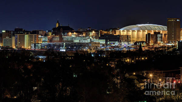 Photograph - Syracuse Skyline And Carrier Dome by Rod Best