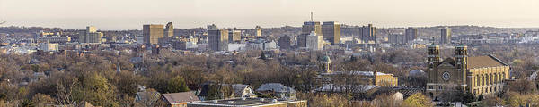 Wall Art - Photograph - Syracuse Skyline by Everet Regal