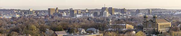 Holy City Photograph - Syracuse Skyline by Everet Regal