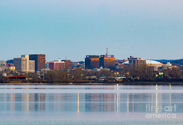 Photograph - Syracuse Skyline by Rod Best