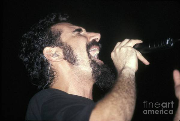 Wall Art - Photograph - System Of A Down Serj Tankian by Concert Photos