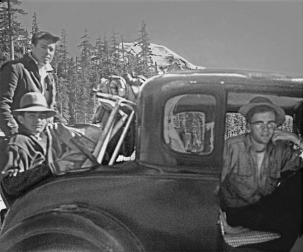 Photograph - T-04902 Travelling To Climb In Style 1955  by Ed  Cooper Photography