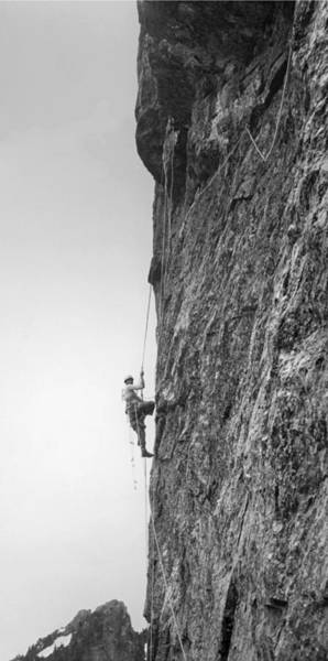 Photograph - T-104507-b Ed Cooper On Mt. Baring First Ascent 1960 by Ed Cooper Photography