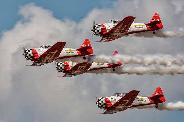 Photograph - T-6 Texan by Norman Peay