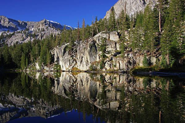 Photograph - T J Lake Reflections by Eastern Sierra Gallery