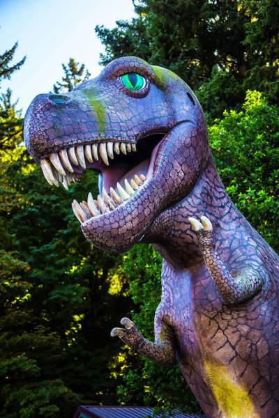 Rex Photograph - T-rex Oregon Woods by Garry Gay