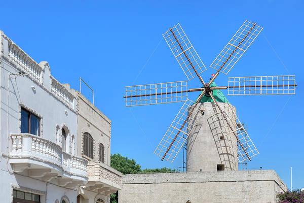 Windmill Island Photograph - Ta Kola Windmill - Gozo by Joana Kruse