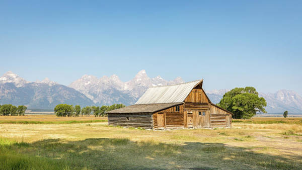 Photograph - T.a. Moulton Barn On Mormon Row by M C Hood