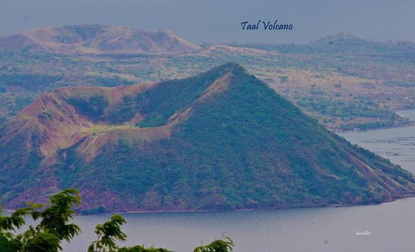 The Philippines Wall Art - Photograph - Taal Volcano by Betsy Knapp