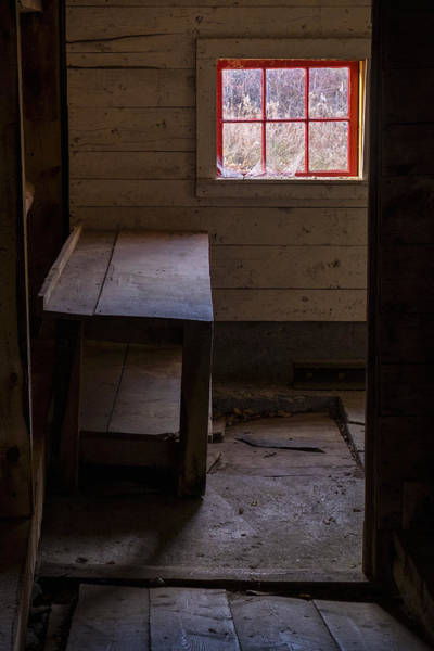 Photograph - Table And Window by Tom Singleton