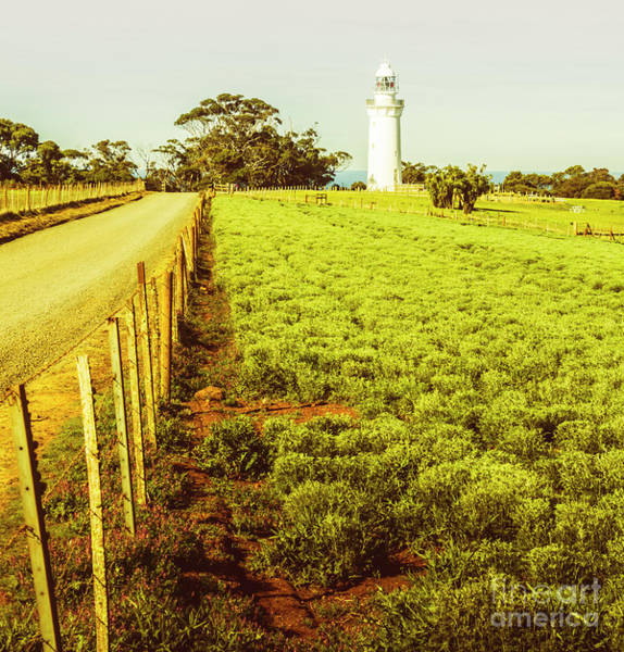 Table Photograph - Table Cape Lighthouse by Jorgo Photography - Wall Art Gallery