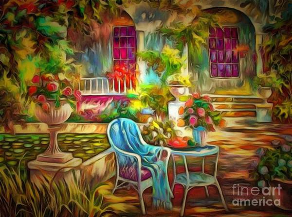 Painting - Table For One by Catherine Lott