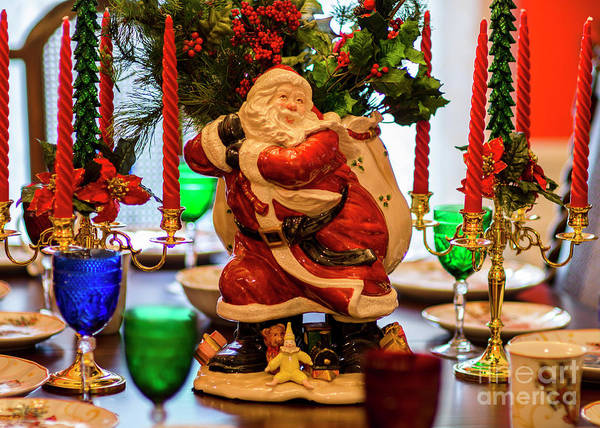 Photograph - Table For Santa by Dale Powell
