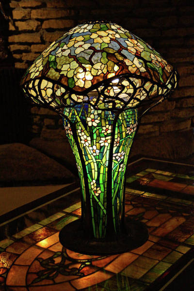 Photograph - Table Lamp by Sandy Keeton