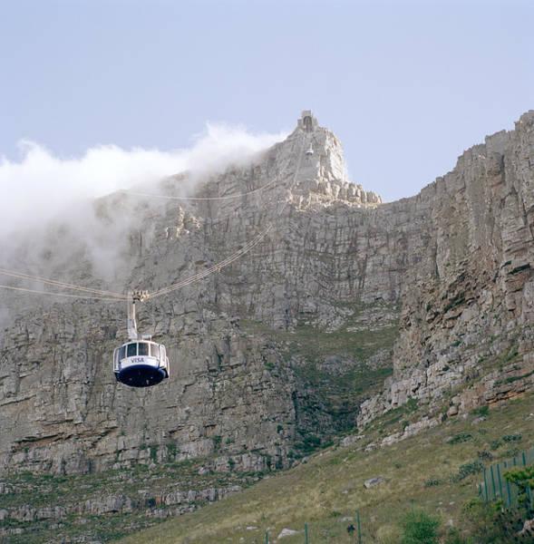 Photograph - Table Mountain Cable Car by Shaun Higson