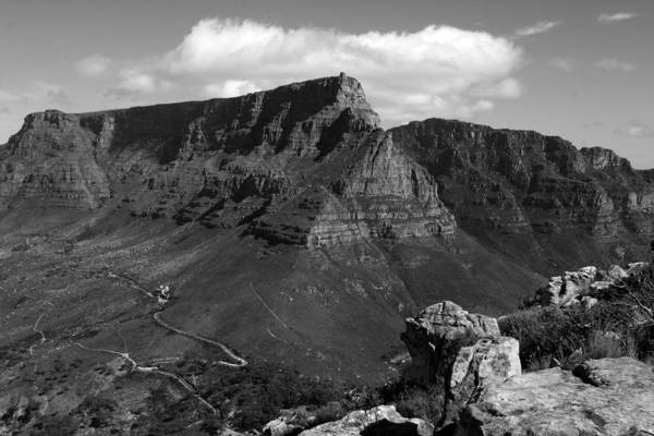 Photograph - Table Mountain, Cape Town, South Africa by Aidan Moran