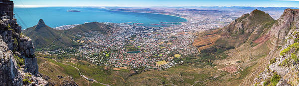 Wall Art - Photograph - Table Mountain View by Mike Walker