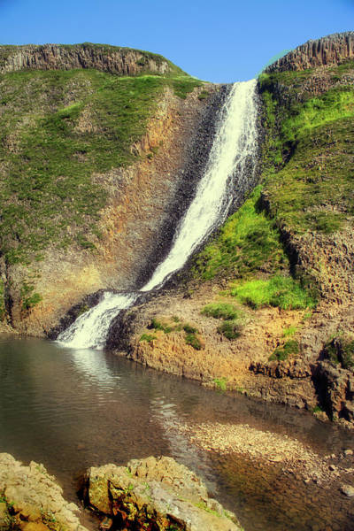 Photograph - Table Mountain Waterfalls by Frank Wilson