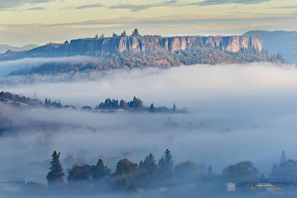 Photograph - Table Rock Morning by Dan McGeorge