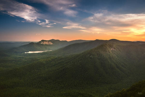 Photograph - Table Rock Sunset by Steven Llorca