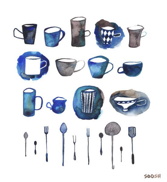 Doodle Painting - Tablewear by Soosh