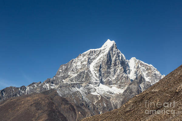 Photograph - Taboche Peak In Nepal by Didier Marti