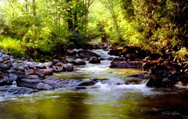Photograph - Tabor Branch Waits River by Frank Wilson