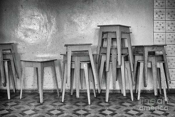 Photograph - Tabourets #2830 by Andrey Godyaykin