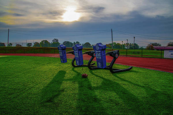 Photograph - Tackle Dummies - Plymouth Whitemarsh Colonial Field by Bill Cannon