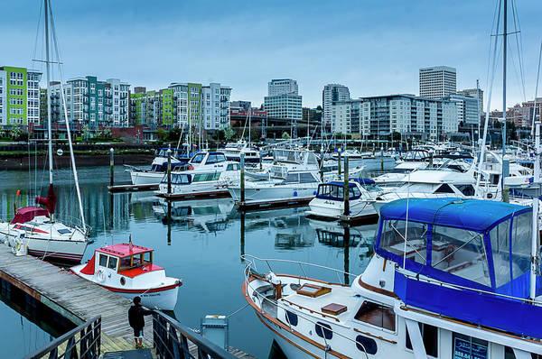 Photograph - Tacoma Waterfront Marina,washington by Sal Ahmed
