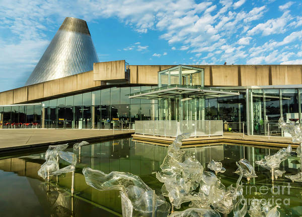 Photograph - Tacoma's Museum Of Glass  by Sal Ahmed