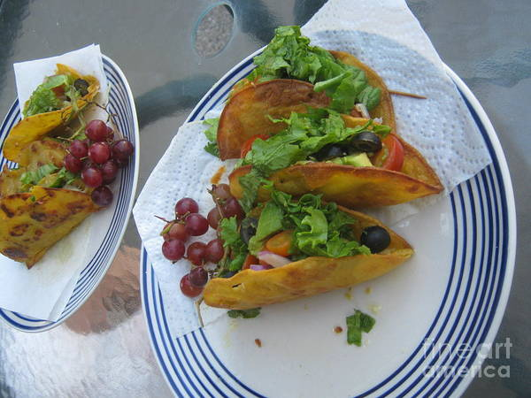 Photograph - Tacos Almost Mirrored by Marie Neder