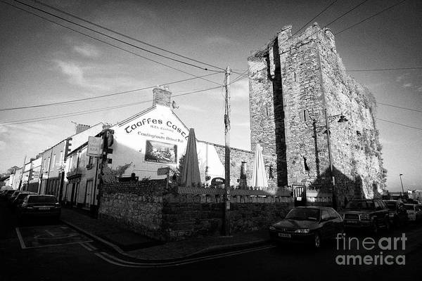 Wall Art - Photograph - Taffes Castle Merchant House Town House And Pub Carlingford County Louth Republic Of Ireland by Joe Fox