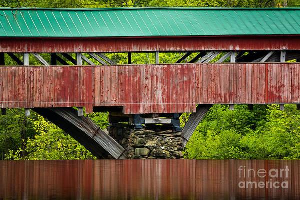 Photograph - Taftsville Bridge by Susan Cole Kelly