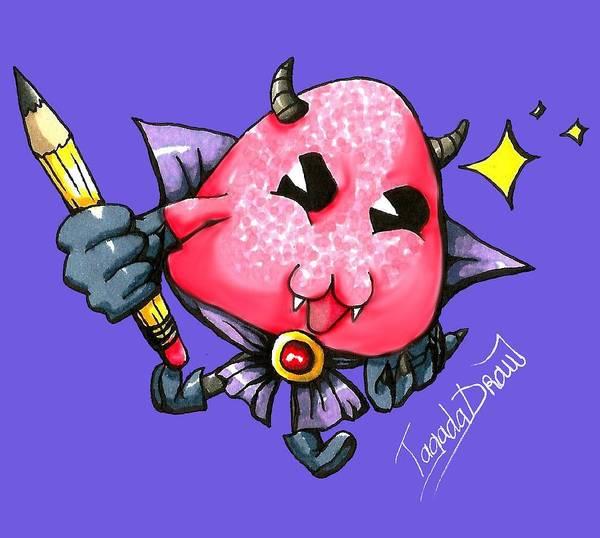 Devilish Drawing - Tagadadraw by Melanie Labeyrie