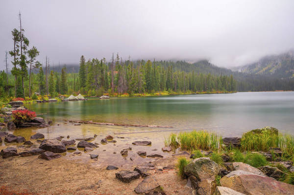 Photograph - Taggert Lake Grand Teton by Scott McGuire