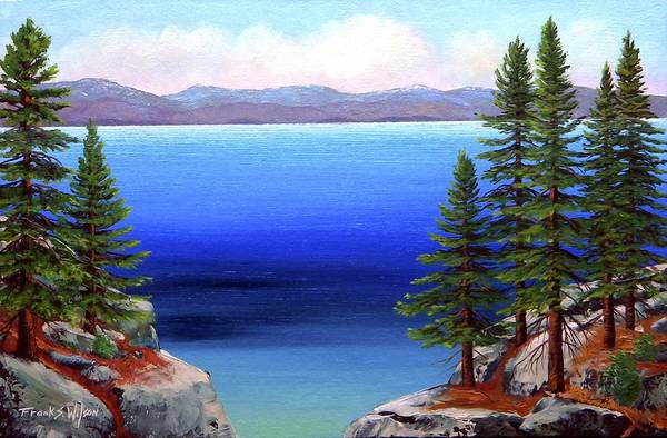 Painting - Tahoe Dreams by Frank Wilson