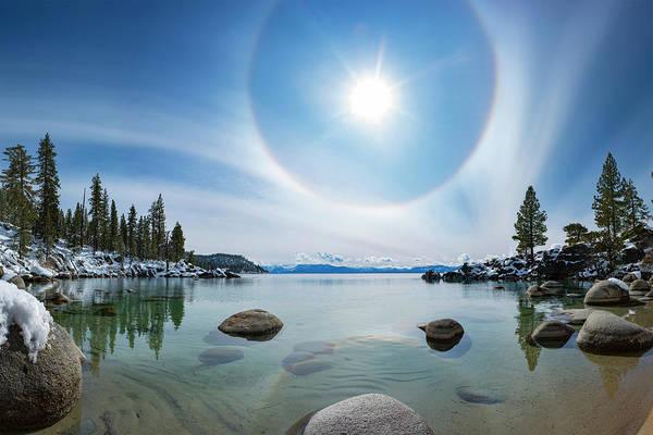 Photograph - Tahoe Halo By Brad Scott by Brad Scott