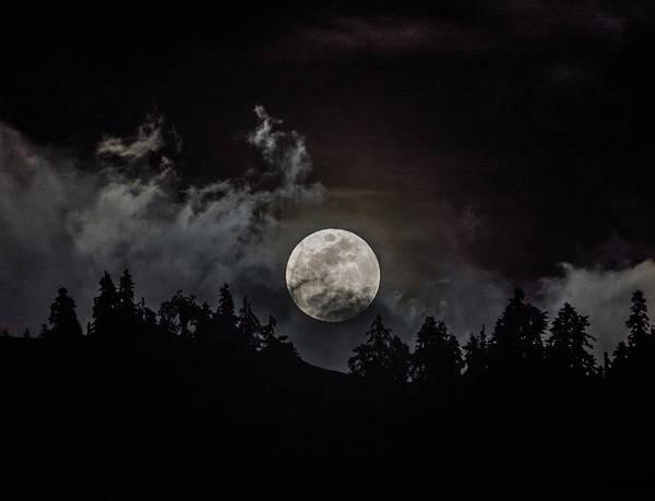 Tahoe Moon Cloud Art Print