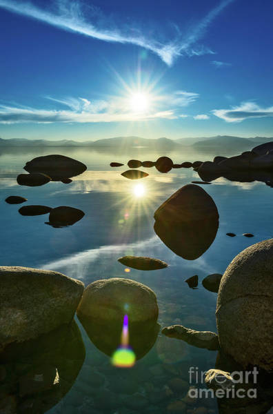 Wall Art - Photograph - Tahoe Star by Jamie Pham