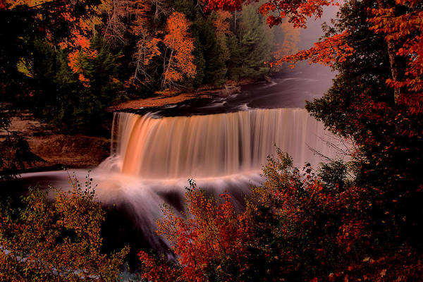 Wall Art - Photograph - Tahquamenon In Red by Matthew Winn