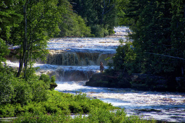 Wall Art - Photograph - Tahquamenon Lower Falls Upper Peninsula Michigan 13 by Thomas Woolworth