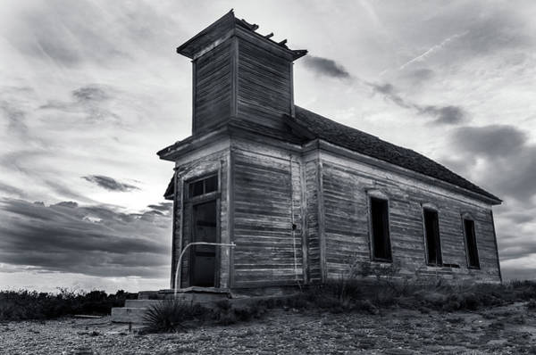 Photograph - Taiban Presbyterian Church, New Mexico by Adam Reinhart