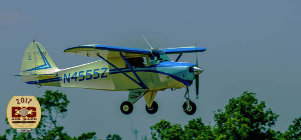 Photograph - Tail #n4555z Coming In. by Jeff Kurtz