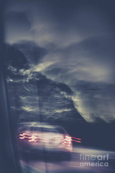 Stalk Photograph - Tailing Car Trails by Jorgo Photography - Wall Art Gallery